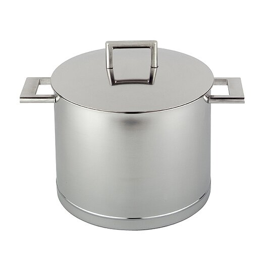 Demeyere John Pawson for Demeyere Stock Pot with Lid