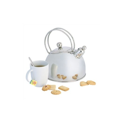 Demeyere Resto 2.6-qt. Whistling Tea Kettle