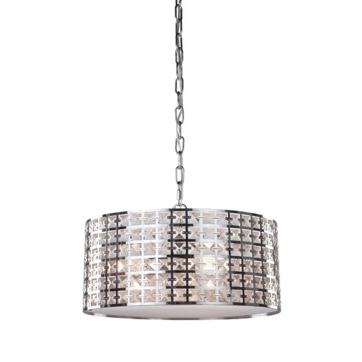Artcraft Lighting Coventry 3 Light Drum Pendant