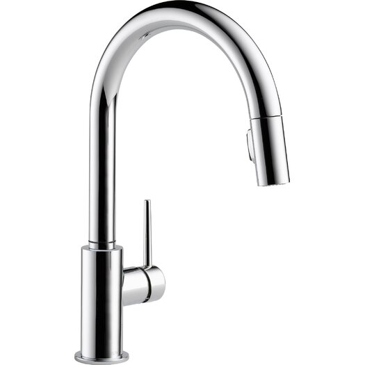 Delta Trinsic Kitchen Faucet with Diamond Seal Technology