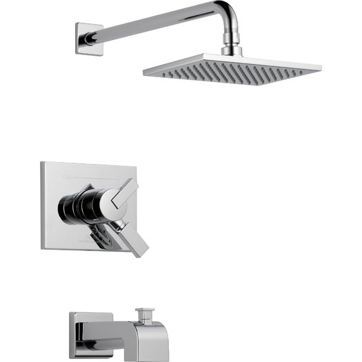 Delta Vero Tub and Shower Trim Package with Independent Volume Control, Monitor and Touch Clean Technologies