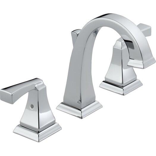 Delta Dryden Widespread Bathroom Faucet with Double Lever Handles