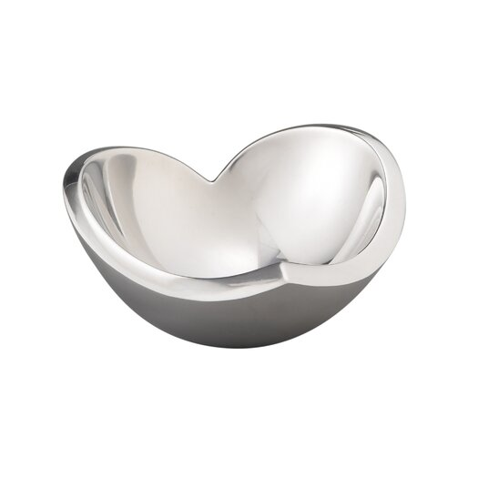 Nambe Mini Love Candy Bowl