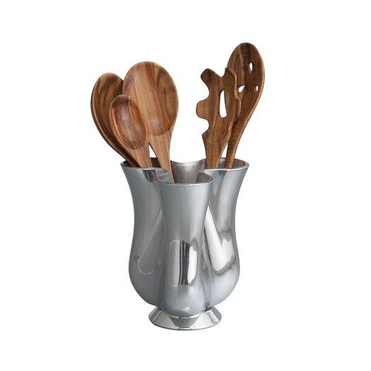Nambe Tulip Jug with Tool Set