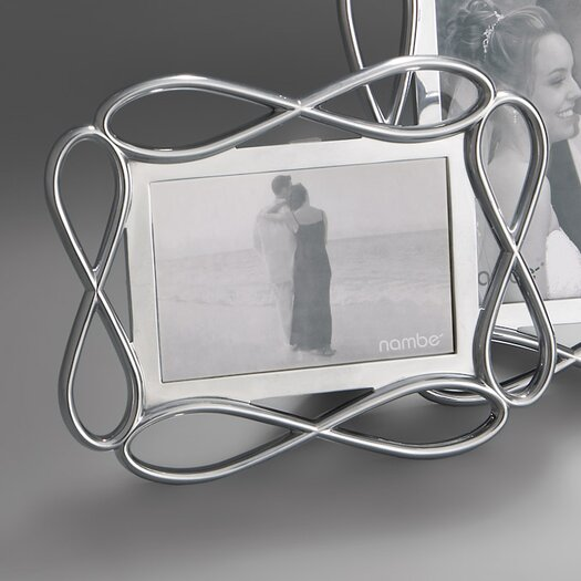 Nambe Infinity Picture Frame