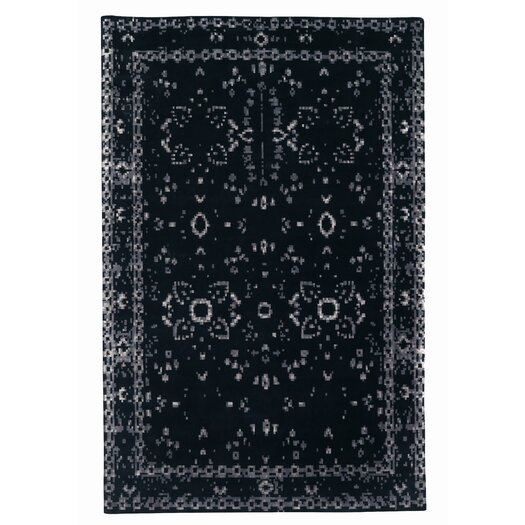 Gandia Blasco Furtive Persan Black Area Rug
