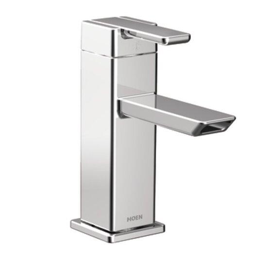 Moen 90 Degree One-Handle Low Arc Bathroom Faucet