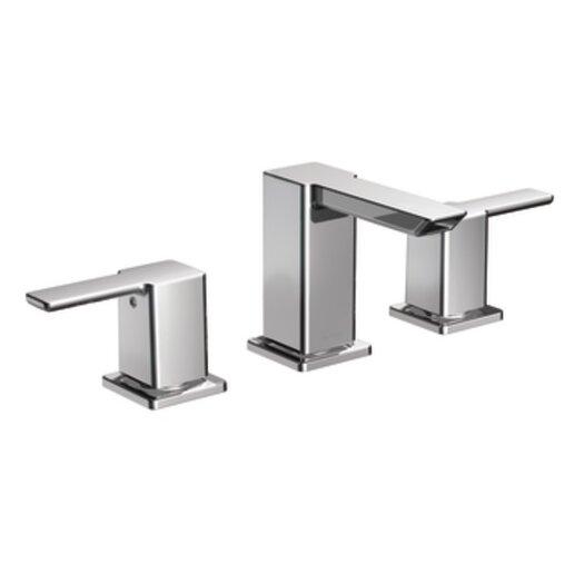 Moen 90 Degree Double Handle Widespread Bathroom Faucet