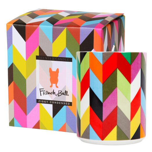 French Bull Ziggy Cinnamon / Musk / Cedar Pillar Candle