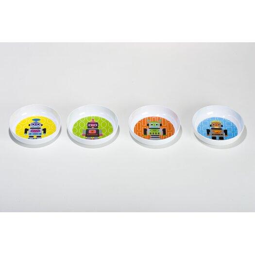 French Bull Robot Kids Bowls