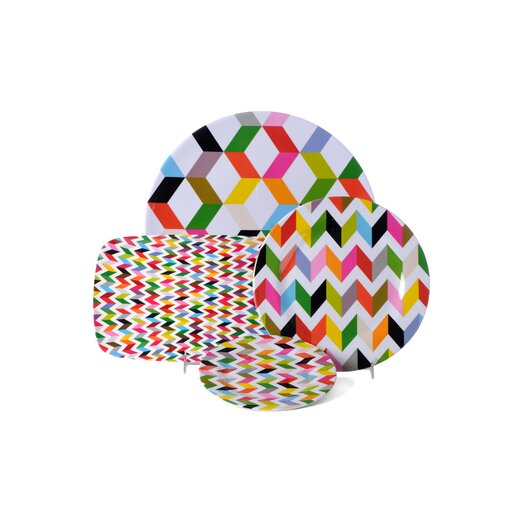 French Bull Ziggy Rectangular Platter