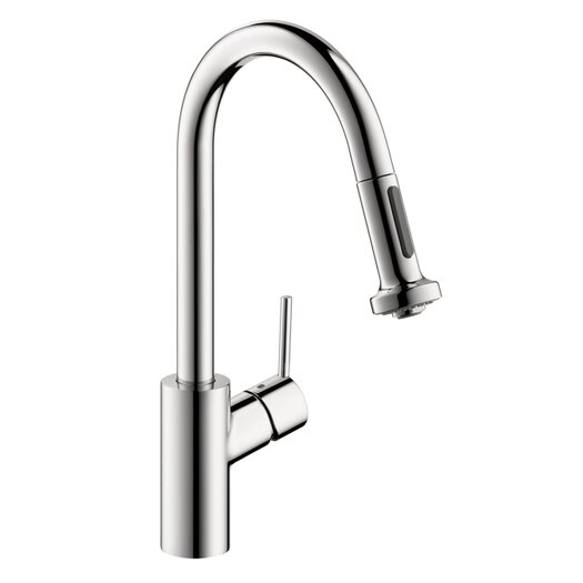 Hansgrohe Talis S 2 One Handle Single Hole Kitchen Faucet with Pull Down 2 Sprayer