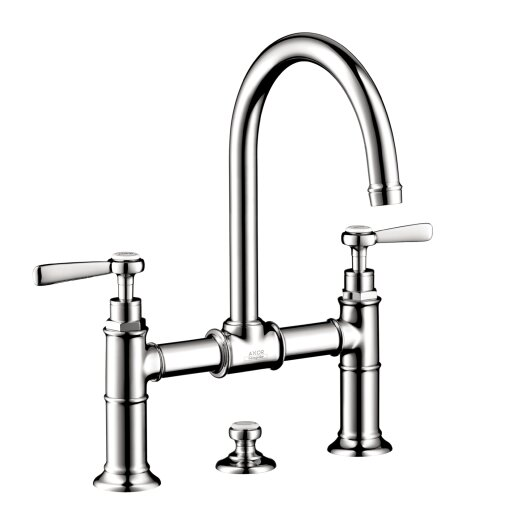 Hansgrohe Axor Montreux Widespread Model Bridge Faucet with Lever Handle