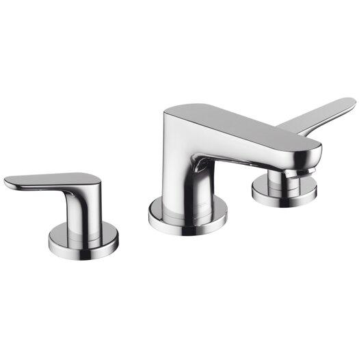 Hansgrohe Focus Double Handle Deck Mount Roman Tub Faucet Set Trim