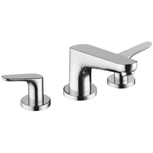 Hansgrohe Focus Double Handle Deck Mount Roman Tub Set Trim