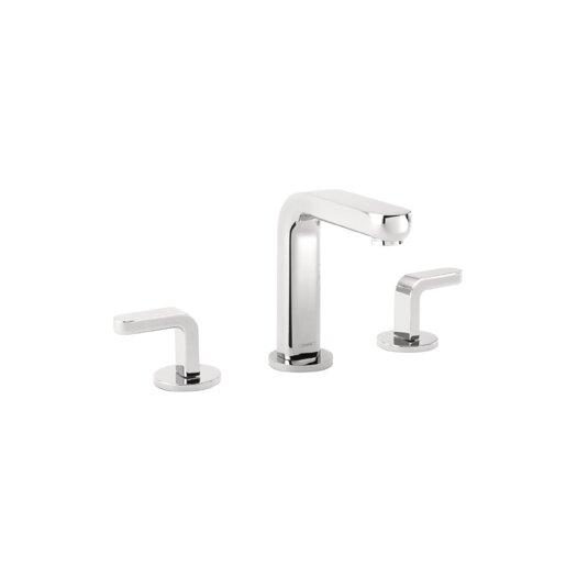 Hansgrohe Metris S Widespread Bathroom Faucet with Double Lever Handles