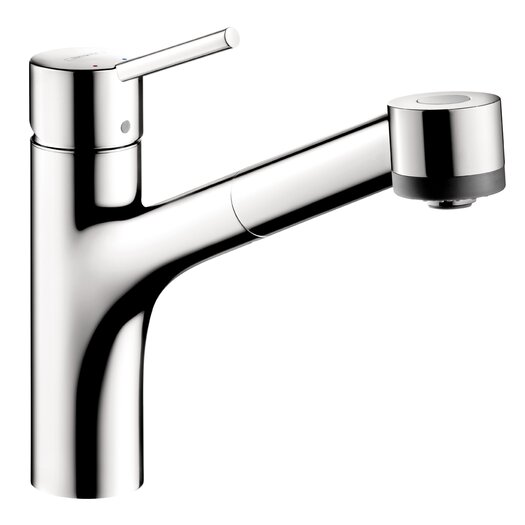 Hansgrohe Interaktiv S One Handle Single-Hole Kitchen Faucet without Base Plate