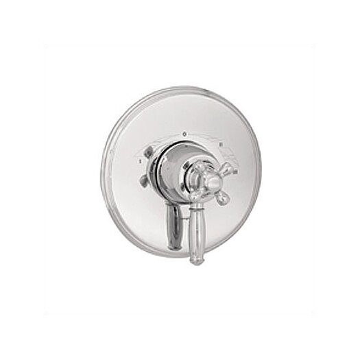 Hansgrohe Thermo Balance III Dual Function and Diverter Faucet Shower Faucet Trim Only with Cross Handle