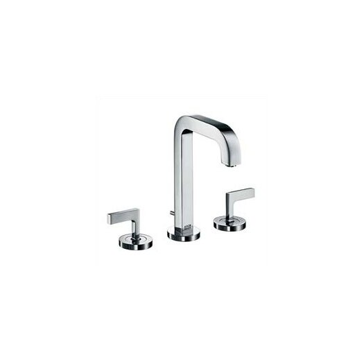 Hansgrohe Axor Citterio Widespread Bathroom Faucet with Double Lever Handles
