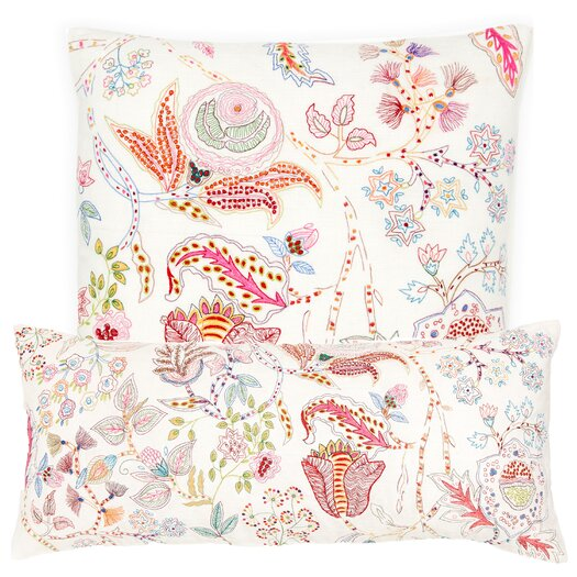 Pine Cone Hill Mirabelle Embroidered Decorative Pillow