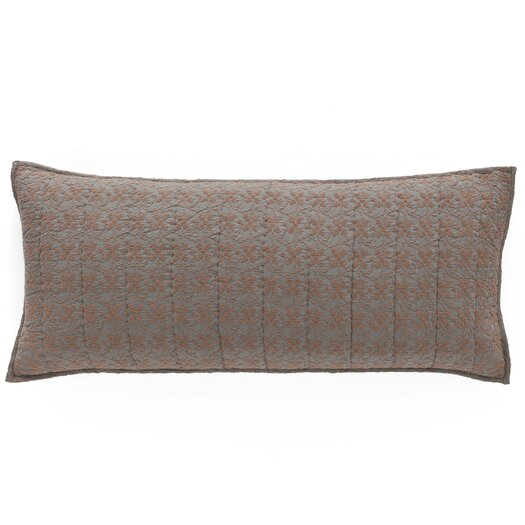 Pine Cone Hill Cross-Stitch Quilted Decorative Pillow