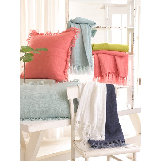 Pine Cone Hill Laundered Linen Throw
