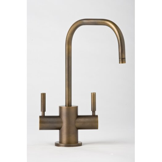 Waterstone Fulton Two Handle Single Hole Hot and Cold Water Dispenser Faucet with Lever Handle