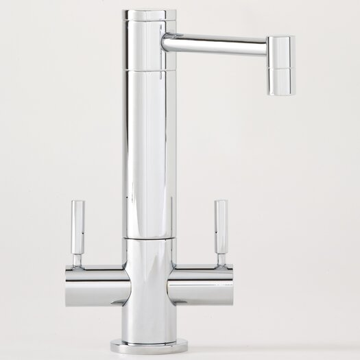 Waterstone Hunley Two Handle Single Hole Hot and Cold Water Filtration Faucet with Lever Handle