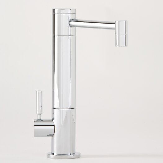Waterstone Hunley One Handle Single Hole Cold Water Filtration Faucet with Lever Handle