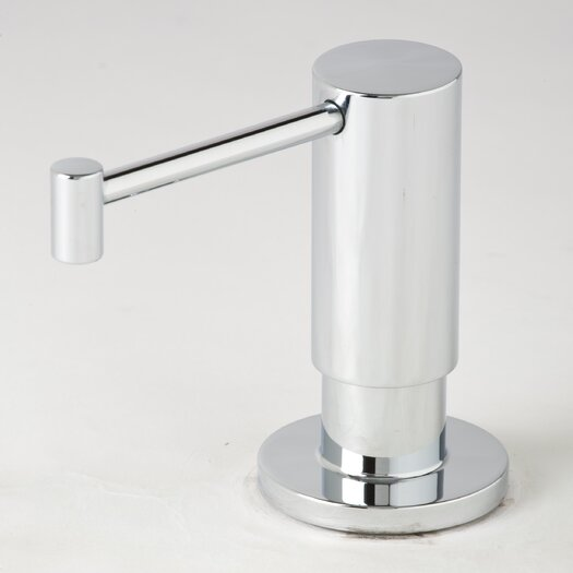Waterstone Contemporary Centerset Soap and Lotion Dispenser Faucet with Less Handle and Straight Spout