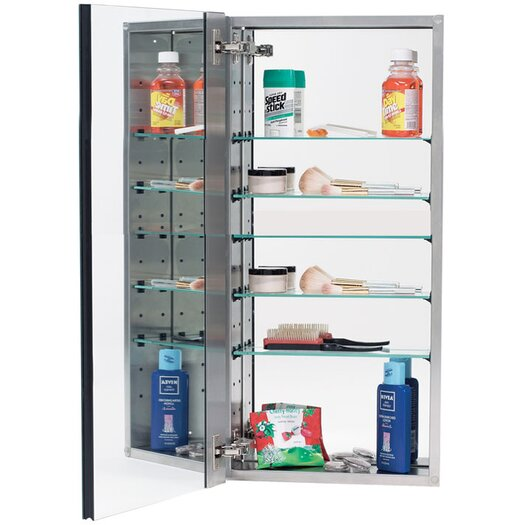 "Alno Inc 15"" x 35"" Recessed Medicine Cabinet"
