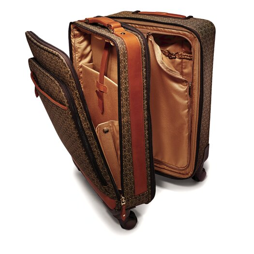 Hartmann Wings Belting Vertical Leather Catalog Case