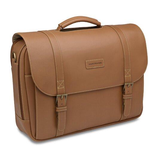 Hartmann J Hartmann Reserve Leather Laptop Briefcase