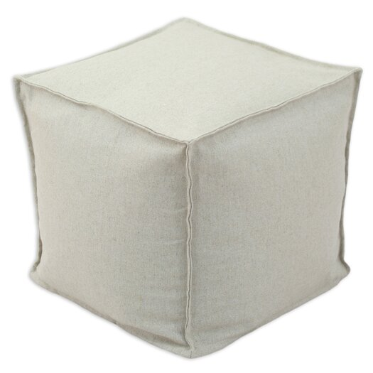 Chooty & Co Linen Beads Hassock Ottoman