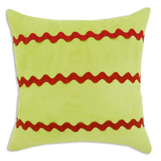 Chooty & Co Passion Suede 3 Stripes Pillow