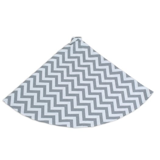 Chooty & Co Zig Zag Round Hemmed Tree Skirt