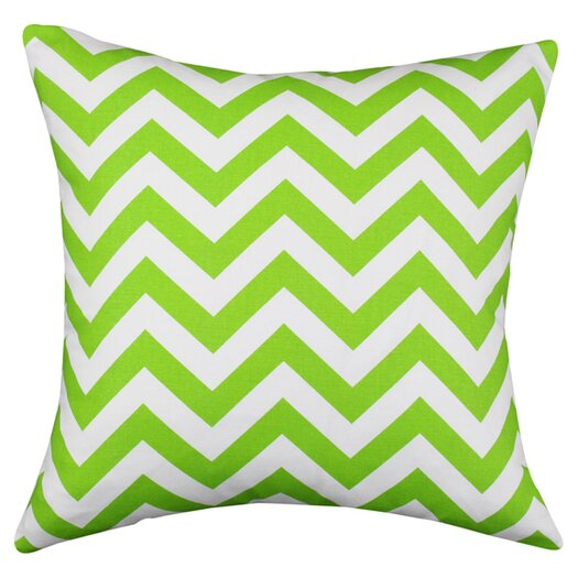 Chooty & Co Zig Zag Cotton Throw Pillow III