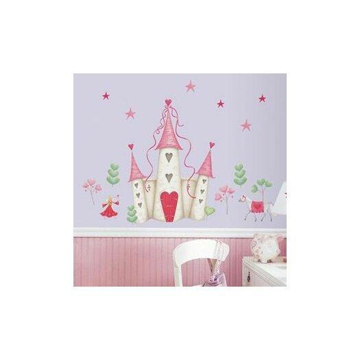 Room Mates Studio Designs 21 Piece Princess Castle Giant Wall Decal Set