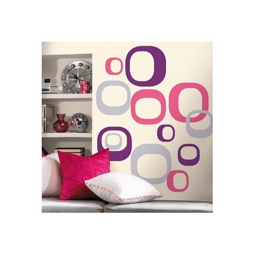 Room Mates Room Mates Deco 30 Piece Modern Ovals Wall Decal Set
