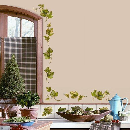 Room Mates Room Mates Deco 26 Piece Evergreen Ivy Wall Decal Set