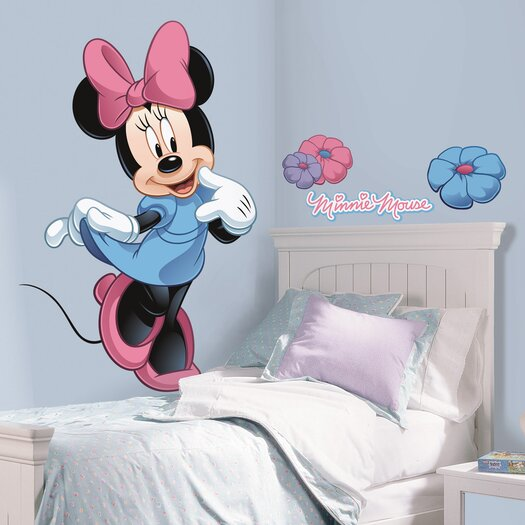 Room Mates Licensed Designs Minnie Mouse Wall Decal