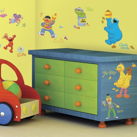 Room Mates Licensed Designs Sesame Street Wall Decal