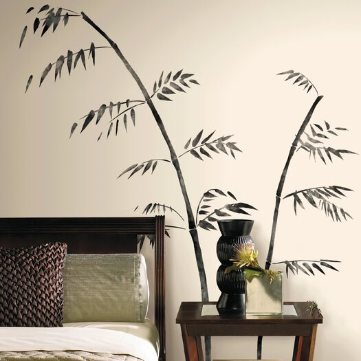 Room Mates Room Mates Deco Painted Bamboo Giant Wall Decal