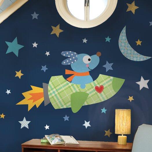 Room Mates Rocketdog Giant Wall Decal