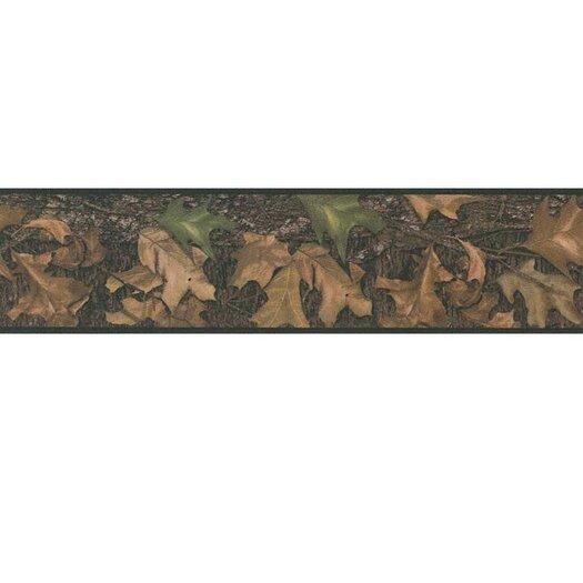 Room Mates Studio Designs Mossy Oak Camo Peel and Stick Wallpaper Border