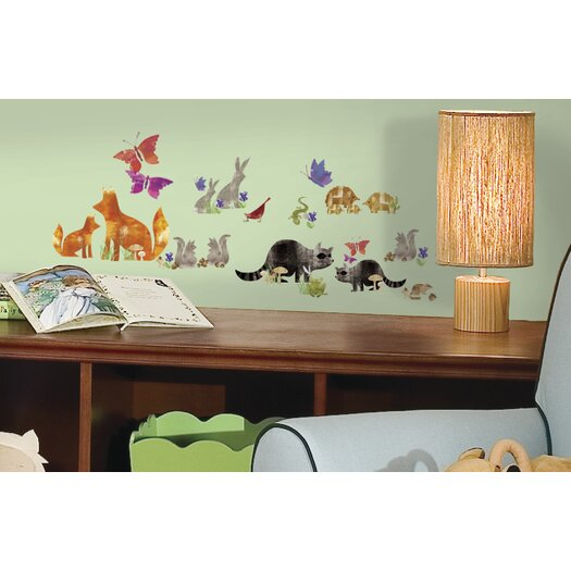 Room Mates Woodland Friends Wall Decal
