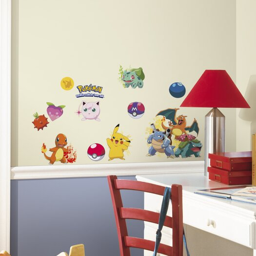 Room Mates Pokemon Iconic Wall Decal