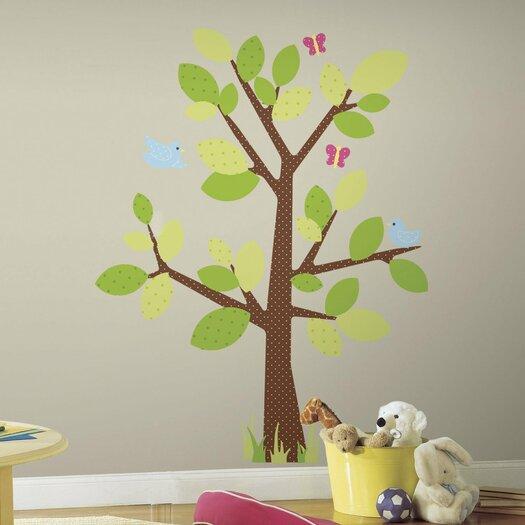 Room Mates Kids Tree Giant Wall Decal Set
