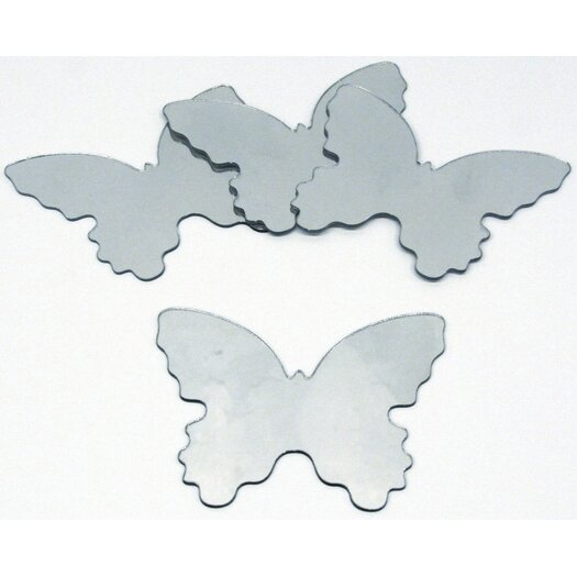 Room Mates Butterfly Small Peel and Stick Mirror