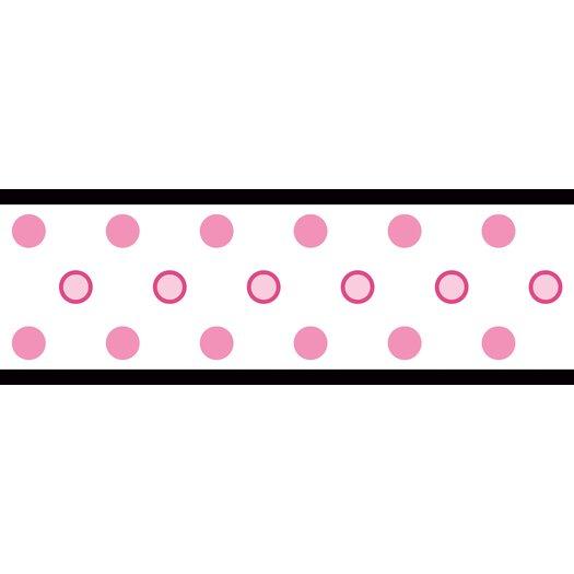 Room Mates Studio Designs Polka Dot Wallpaper Border